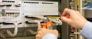 réparation conducteur électrique